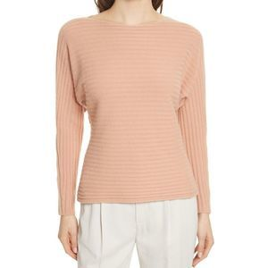 NWT Vince cashmere lower tie back orange sweater